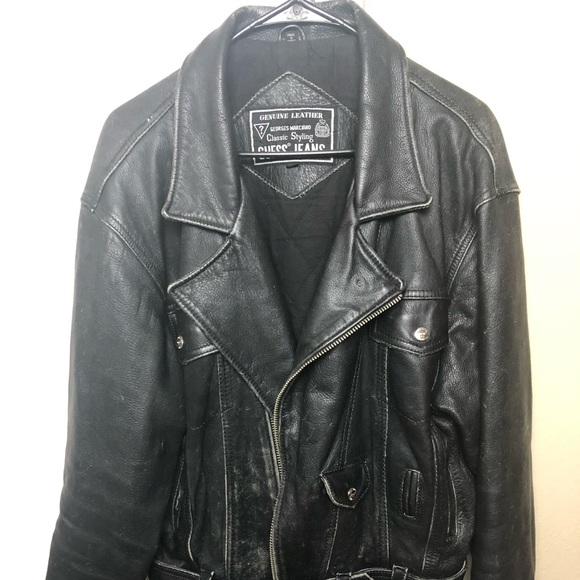 Guess by Marciano Jackets & Blazers - Guess by Marciano genuine leather vintage jacket